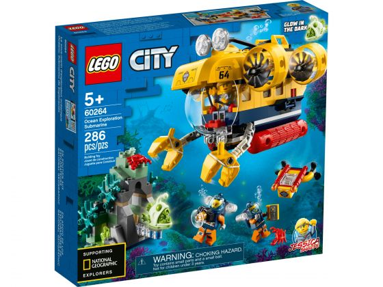 LEGO City 60264 Oceaan Verkenningsduikboot