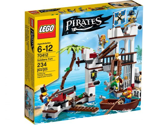 LEGO Pirates 70412 Het soldatenfort