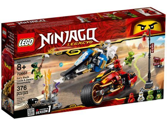 LEGO Ninjago 70667 Zwaardmotor van Kai en Scooter van Zane