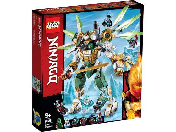 LEGO Ninjago 70676 Titanium mecha van Lloyd