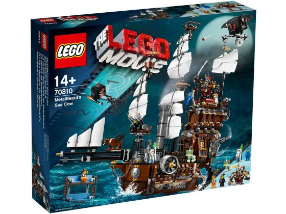 LEGO 70810 Lego Movie MetalBeard Sea Cow