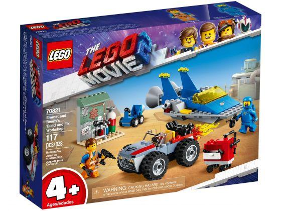 LEGO Movie 2 70821 Emmets en Benny's reparatiewerkplaats