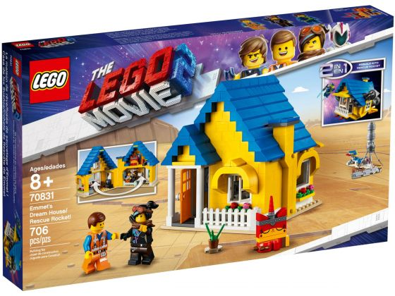 LEGO Movie 2 70831 Emmets droomhuis/reddingsraket