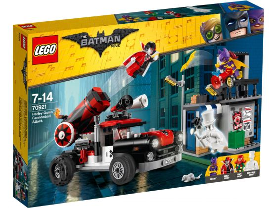 LEGO Batman Movie 70921 Harley Quinn kanonskogelaanval