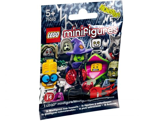 LEGO 71010 Zakje Minifigures Serie 14: Monsters
