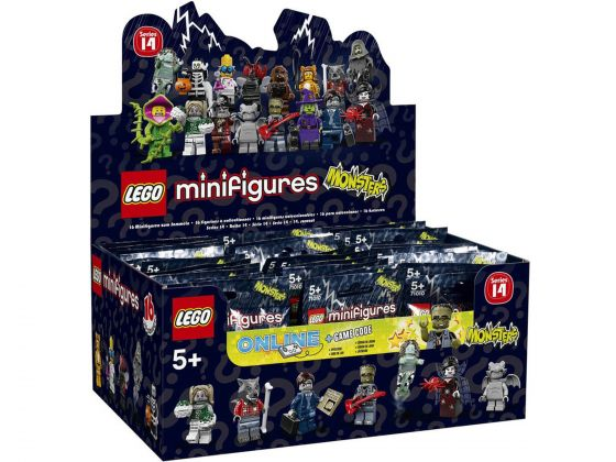 LEGO 71010 Doos Minifigures Serie 14: Monsters