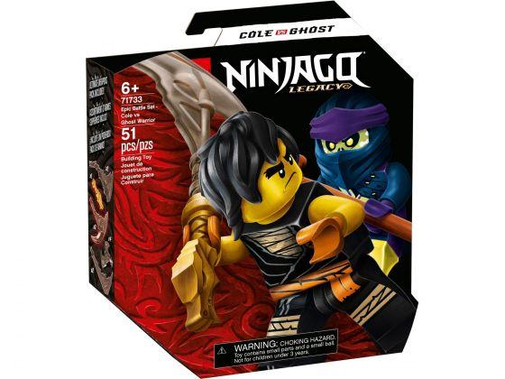 LEGO Ninjago 71733 Epische Strijd set - Cole tegen Spookstrijder