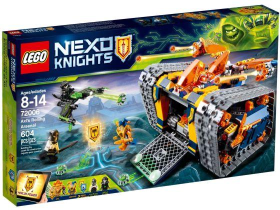 LEGO Nexo Knights 72006 Axl‰Û÷s rollende arsenaal