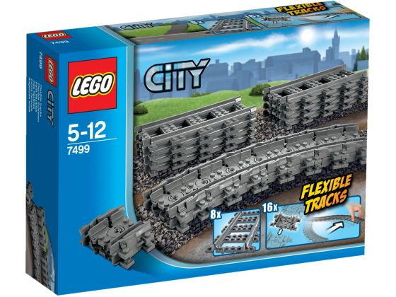 LEGO City 7499 Flexibele en rechte rails