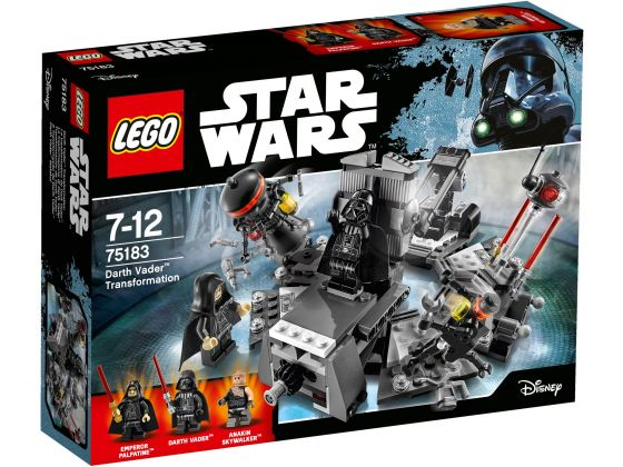 LEGO Star Wars 75183 Darth Vader transformatie