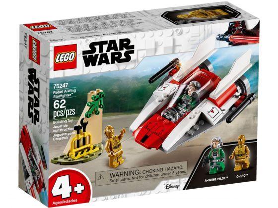 LEGO Star Wars 75247 Rebel A-Wing Starfighter