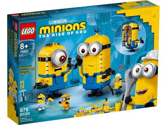 LEGO Minions 75551 Minions-figuren van stenen en hun schuilplaats