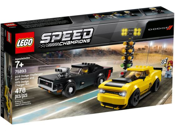 LEGO Speed Champions 75893 Dodge Challenger en Charger