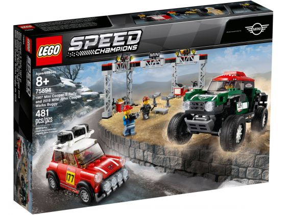 LEGO Speed Champions 75894 Mini Cooper en MINI Buggy