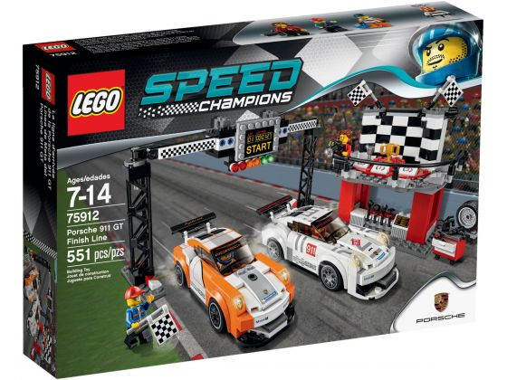 LEGO Speed Champions 75912 Porsche 911 GT finish