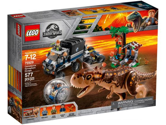 LEGO Jurassic World 75929 Gyrobolontsnapping Carnotaurus