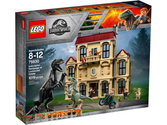 LEGO Jurassic World 75930 Indoraptorchaos bij Lockwood