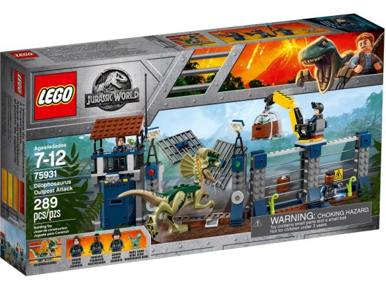 LEGO Jurassic World 75931 Uitkijktoren van Dilophosaurus
