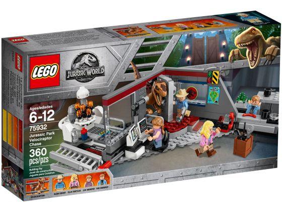 LEGO Jurassic World 75932 Jurassic Park velociraptor achtervolging
