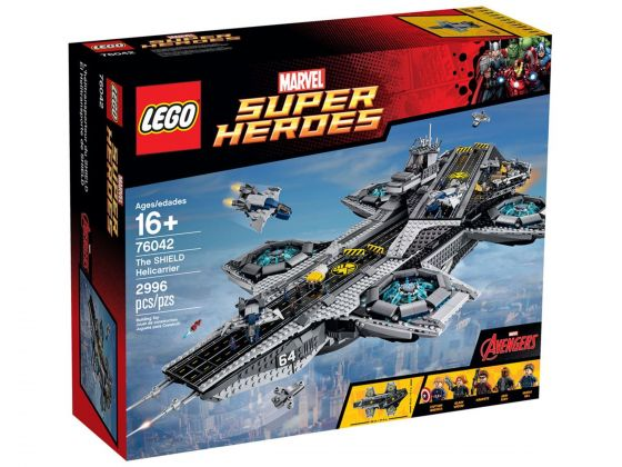 LEGO 76042 De SHIELD Helicarrier