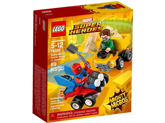 LEGO Super Heroes 76089 Mighty Micros: Scarlet Spider vs. Sandman