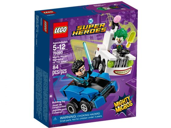 LEGO Super Heroes 76093 Mighty Micros: Nightwing vs. The Joker