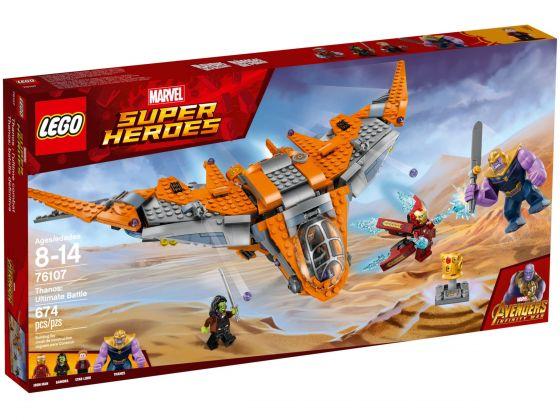 LEGO Super Heroes 76107 Thanos: Het ultieme duel