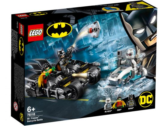 LEGO Super Heroes 76118 Mr. Freeze Het Batcycle-gevecht
