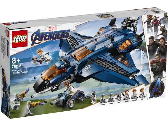 LEGO Super Heroes 76126 Avengers Ultieme Quinjet