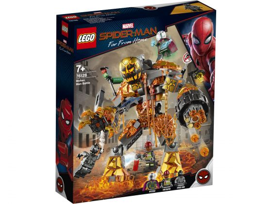 LEGO Super Heroes 76128 Molten Man duel