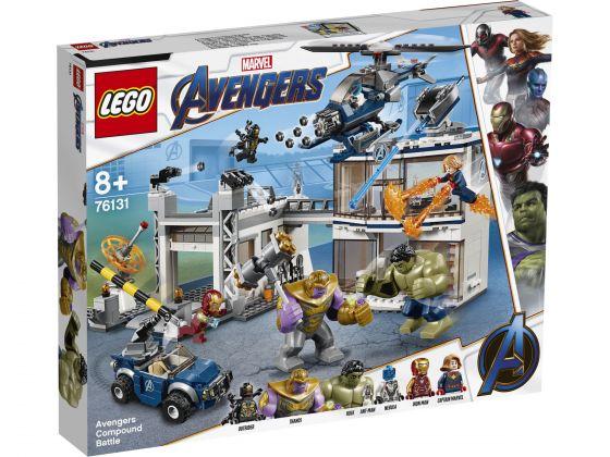 LEGO Super Heroes 76131 Strijd bij de basis van de Avengers