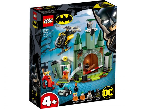 LEGO Super Heroes 76138 Batman en de Joker ontsnapping