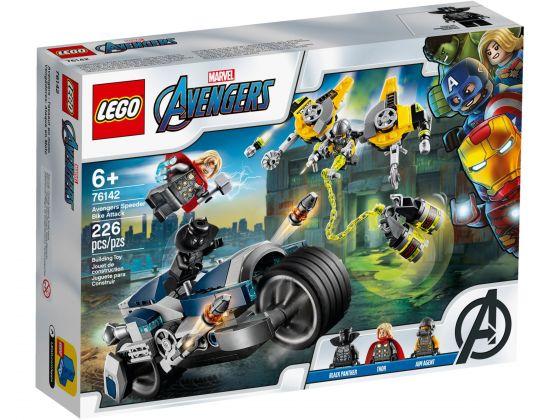 LEGO Super Heroes 76142 Avengers Speeder Bike aanval