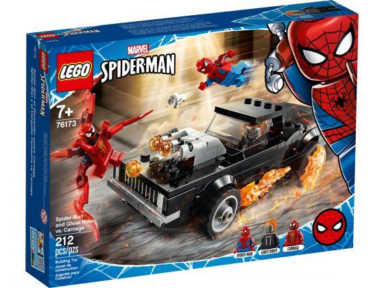 LEGO Super Heroes 76173 Spider-Man en Ghostrider vs. Carnage