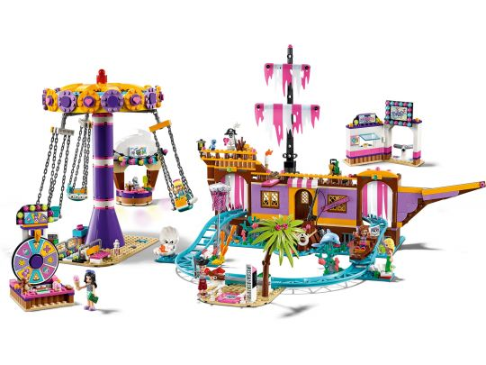 LEGO Friends 41375 Heartlake City pier met kermisattracties