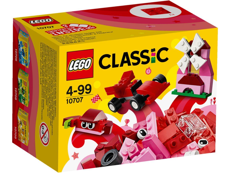 LEGO Classic 10707 Rode creatieve doos