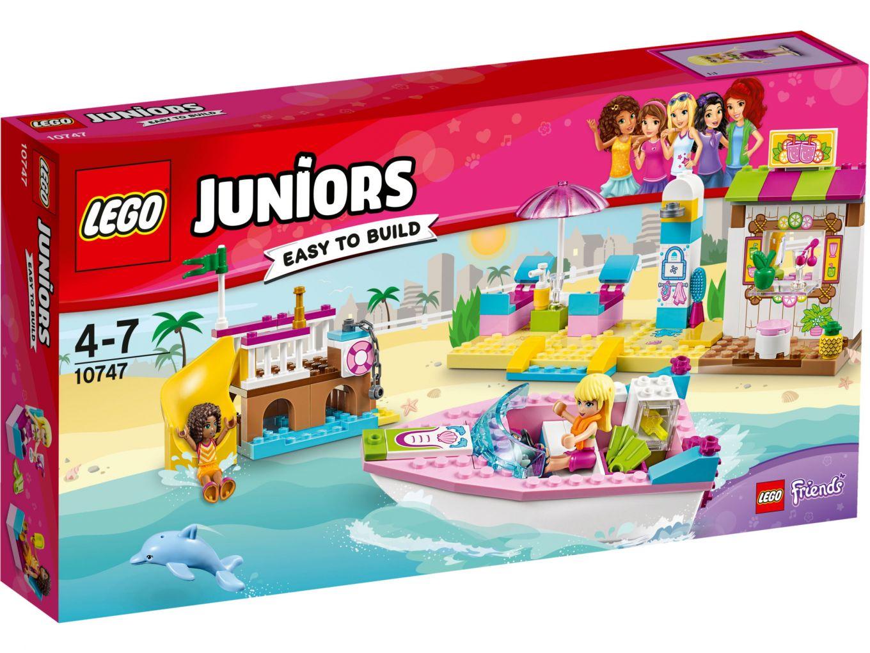 LEGO Juniors 10747 Andrea en Stephanies Strandvakantie