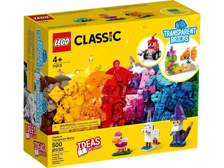 LEGO Classic 11013 Creatieve transparante stenen