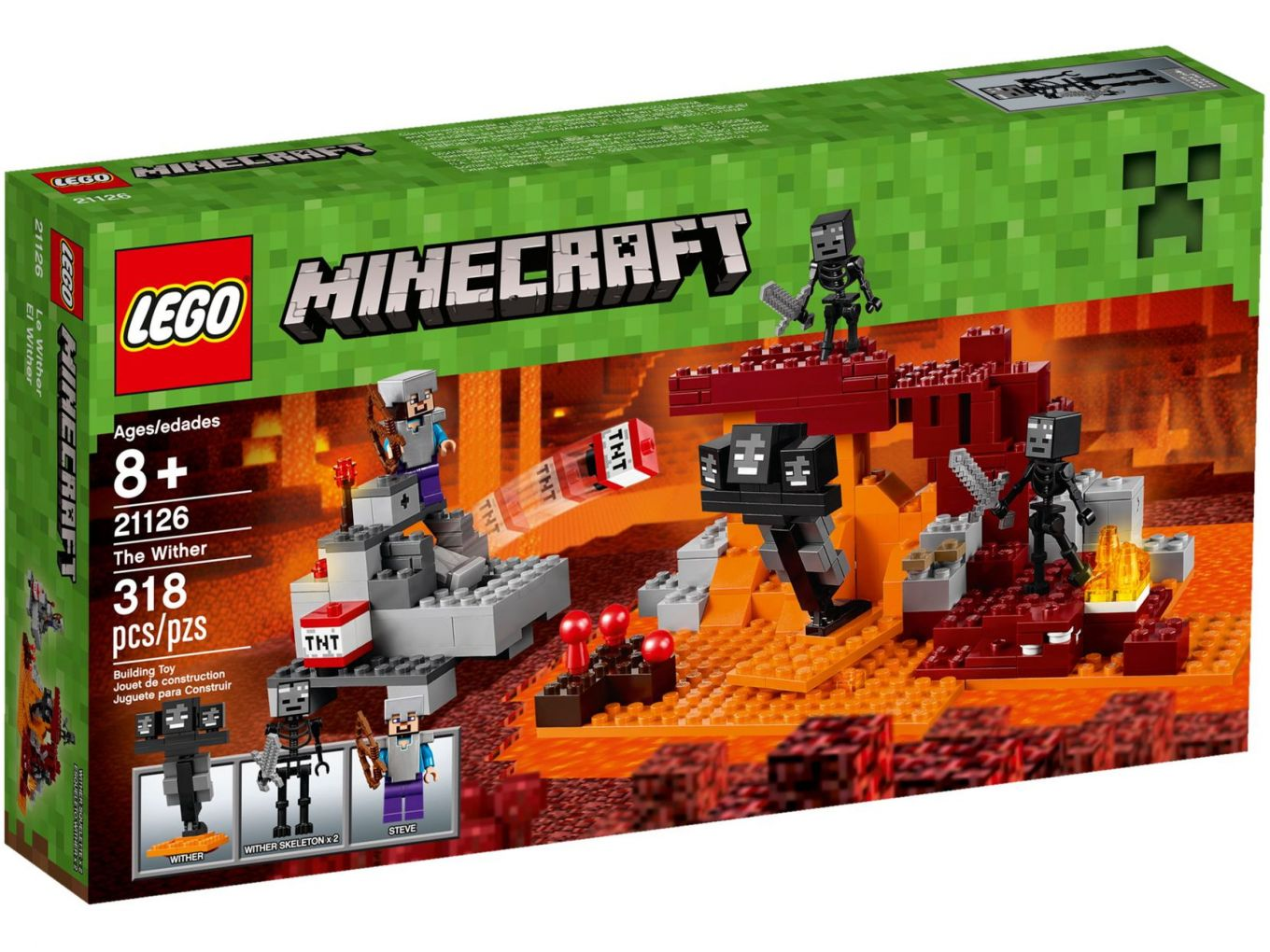 LEGO Minecraft 21126 De Wither