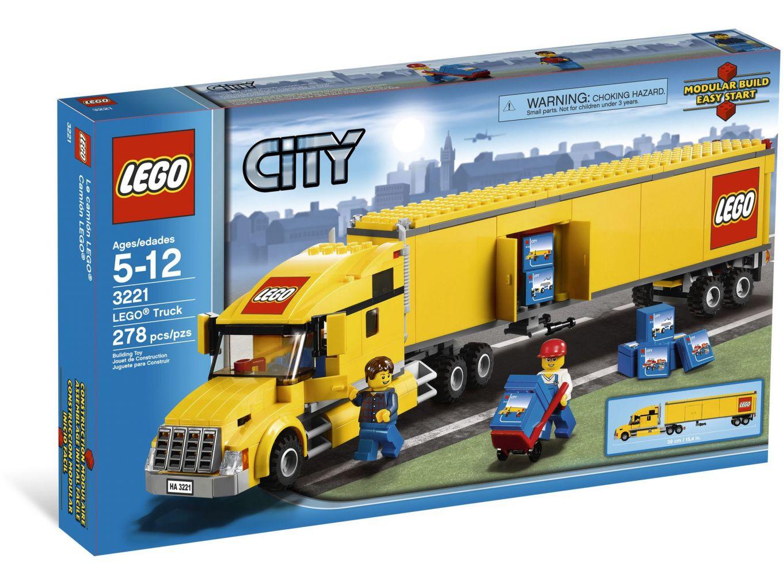 LEGO City 3221 Vrachtwagen