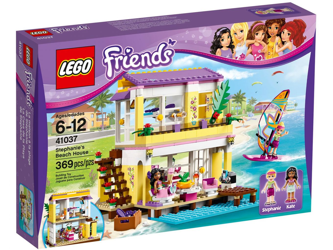 LEGO Friends 41037 Stephanie Strandhuis