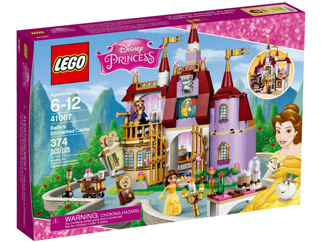 LEGO Disney Princess 41067 Belle's betoverende kasteel