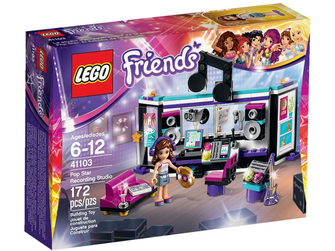 LEGO Friends 41103 Popster Opnamestudio