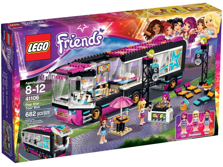 LEGO Friends 41106 Popster Toerbus