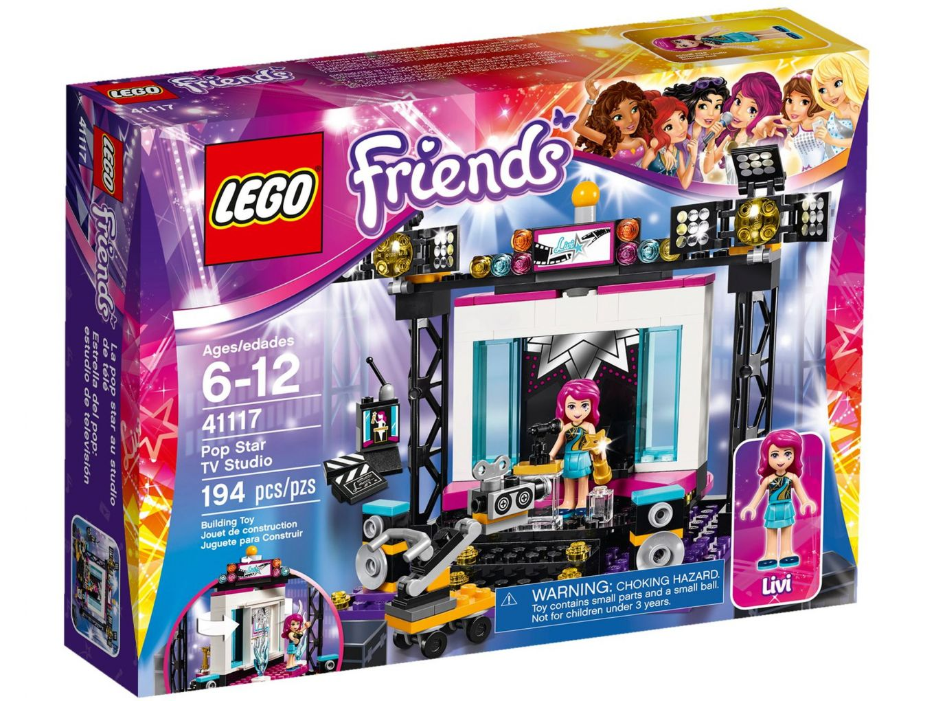 LEGO Friends 41117 Popster TV Studio