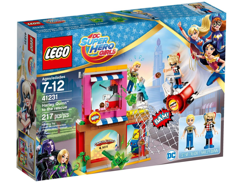 LEGO DC Super Hero Girls 41231 Harley Quinn schiet te hulp