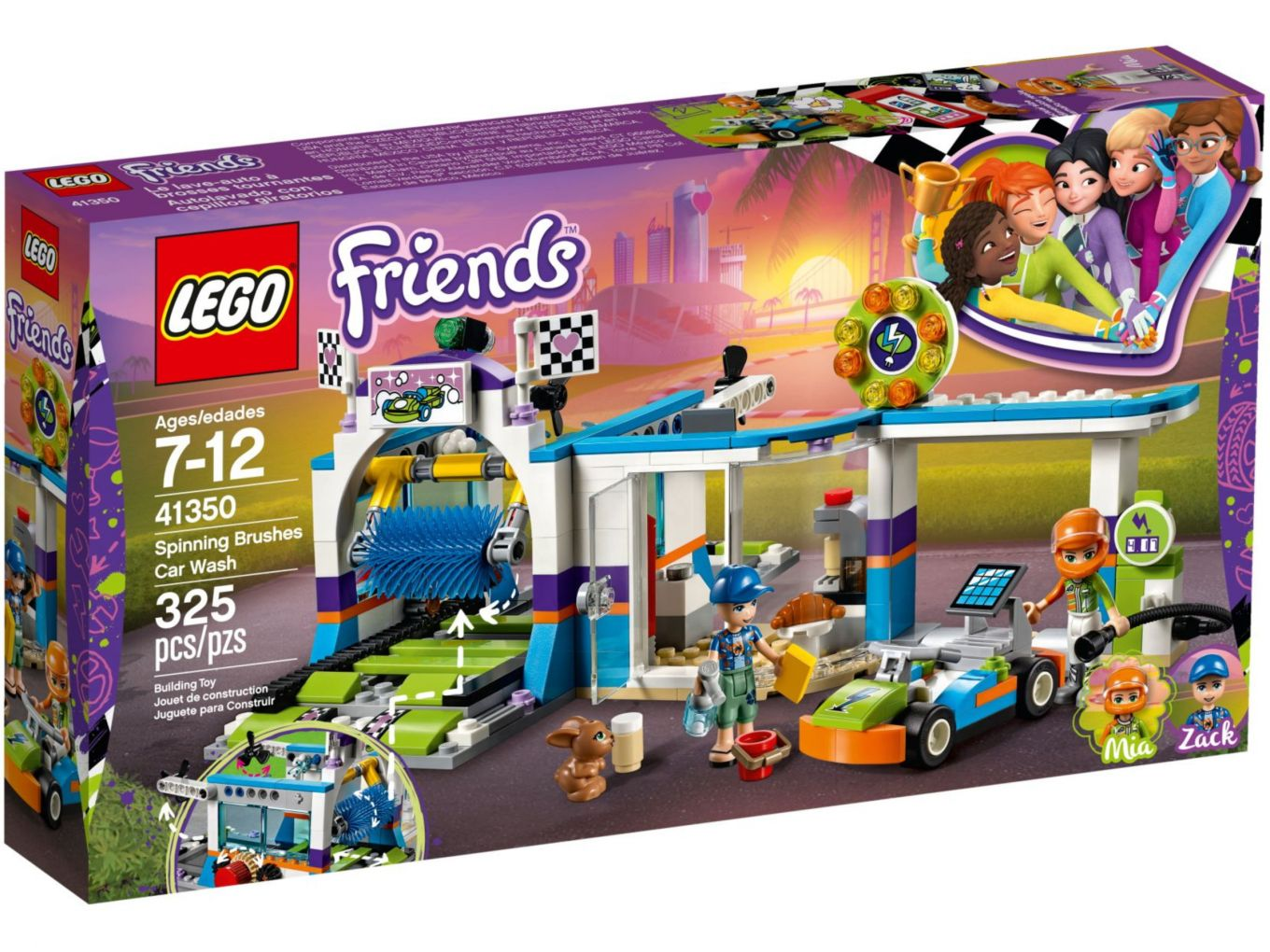 LEGO Friends 41350 Autowasstraat