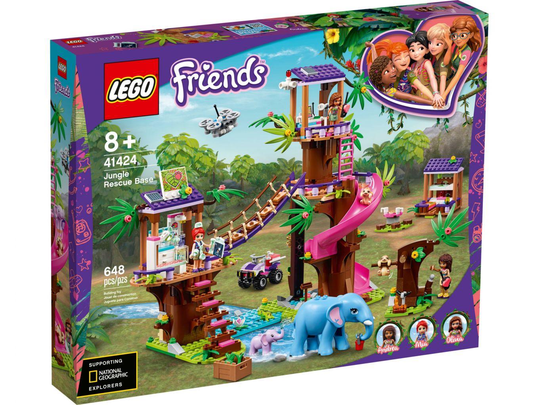 LEGO Friends 41424 Jungle reddingsbasis