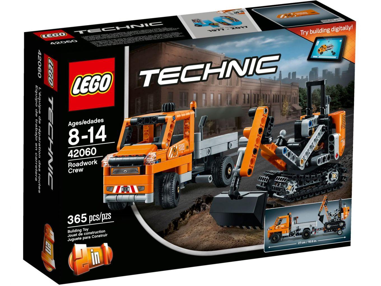 LEGO Technic 42060 Wegenbouwploeg