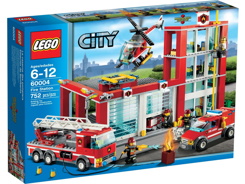 LEGO City 60004 Brandweer Kazerne